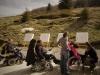 """Le foyer d'accueil médicalisé """"Les Cigales"""", venu d'Alsace, en séjour et en activités au refuge !"""