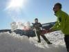 Course de yooner, construction d'igloo, recherche arva... jouons et apprenons dans la neige avec les Accompagnateurs en montagne du Refuge du Sotré !