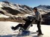 Une personne handicapée... qui fait du ski !