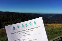 Les 6 Parcs Naturel Régionaux de la région Grand Est en séminaire au refuge