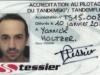 Accréditation pilote Tandemski & Tandem'flex Tessier - Yannick Holtzer (recto)