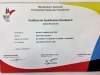 Certification de Qualification Handisport Yannick Holtzer