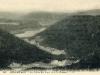 Vue sur la vallée des lacs et Xonrupt-Longemer depuis la chaume du Haut-Chitelet.