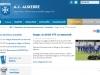 Site internet AJ Auxerre - 1 juillet 2014