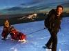 Massif des Vosges magazine - Randonnée découverte en fauteuil ski et raquettes à neige accessibles aux personnes handicapées au Hohneck - Refuge du Sotré.