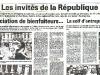 L'Est Républicain (13-7-2003) - Invitation de l'Association Sotrés à la Garden Party de l'Elysée.