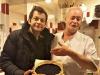 Laurent Mariotte avec notre cuisiner Michel !