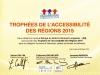 Trophée de l'Accessibilité des Régions 2015