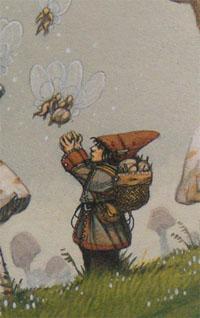 Le Sotré et les Fées à la cueillette aux champignons.