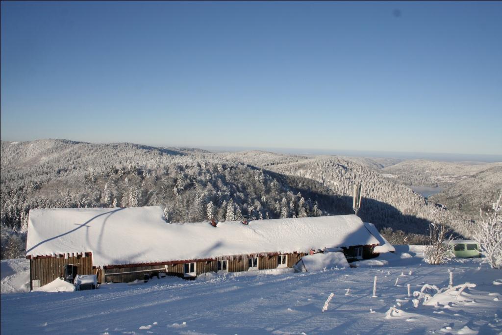 Paysage du Refuge du Sotré le 30 novembre 2010.