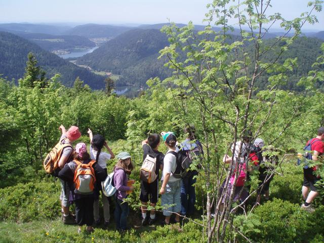 Classe verte école de Cheniménil au Refuge du Sotré - Massif des Vosges - Hohneck.