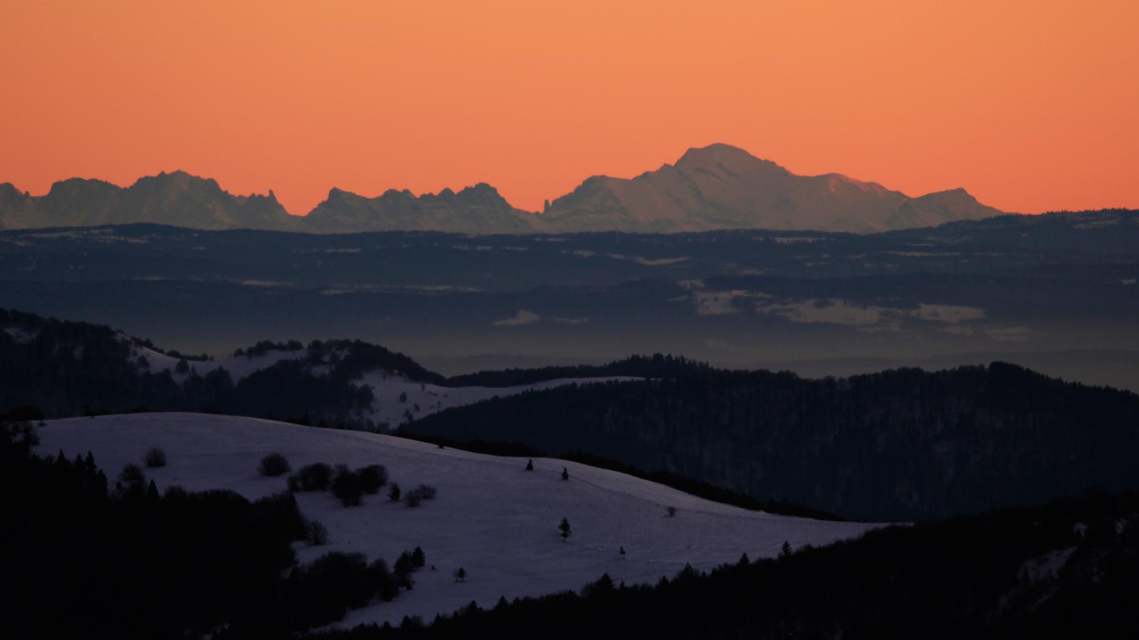 sommet du kastelberg mont blanc 320kms 10 d cembre au soir refuge du sotr massif des. Black Bedroom Furniture Sets. Home Design Ideas