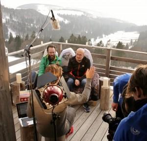 E-Motion en tournage au refuge du sotré avec AlabamProd (1)