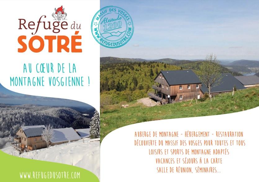 Brochure du Refuge du Sotré 2016 !