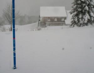 La neige du 13 janvier 2016 !