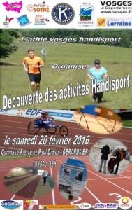 Journée handisport à Gérardmer !