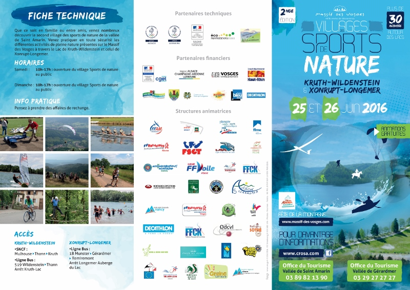 Village des sports de nature 2016 !