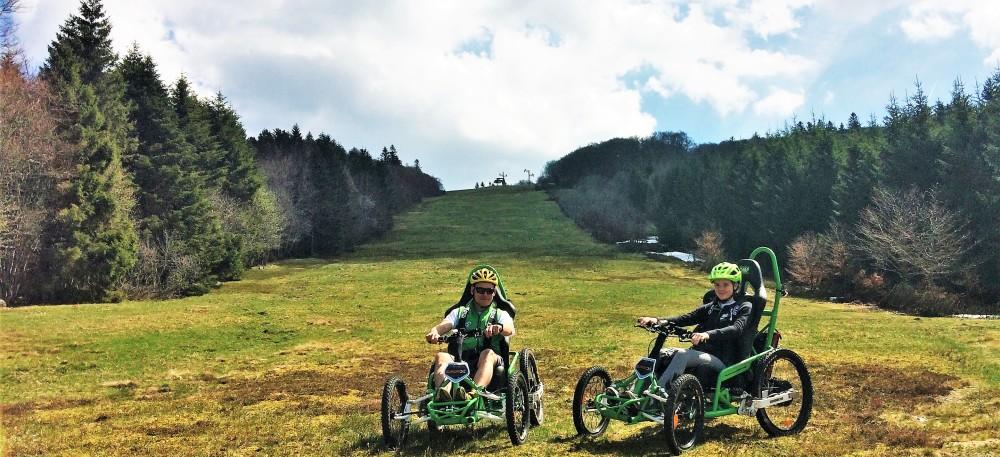 Les  WATT'S du Refuge du Sotré vont vous permettre de gravir chemins de montagne et sentiers plus tranquilles !
