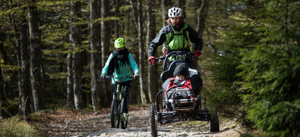 Découvrez de merveilleuses sensations de descente grâce aux fauteuils tout terrain CIMGO.