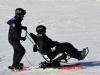 Descente de ski en tandem'flex avec les pilotes du Refuge du Sotré !