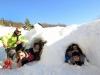 Construire sa maison de glace… et devenir « inuit » !