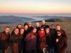 L'équipe de Radio Vosges FM au sommet du Hohneck !