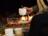 aubeSalle de restauration et spécialités de montagne du Refuge du Sotré !