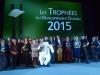 """Trophée du Développement Durable """"Mieux vivre ensemble"""", remis par le Conseil départemental des Vosges (crédit photo Conseil départemental des Vosges / Joëlle Laurençon)"""