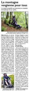 Le Républicain Lorrain page Voyages (26-7-2014)