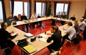 La société vosgienne de transports MGE, en séminaire au refuge ! (3)