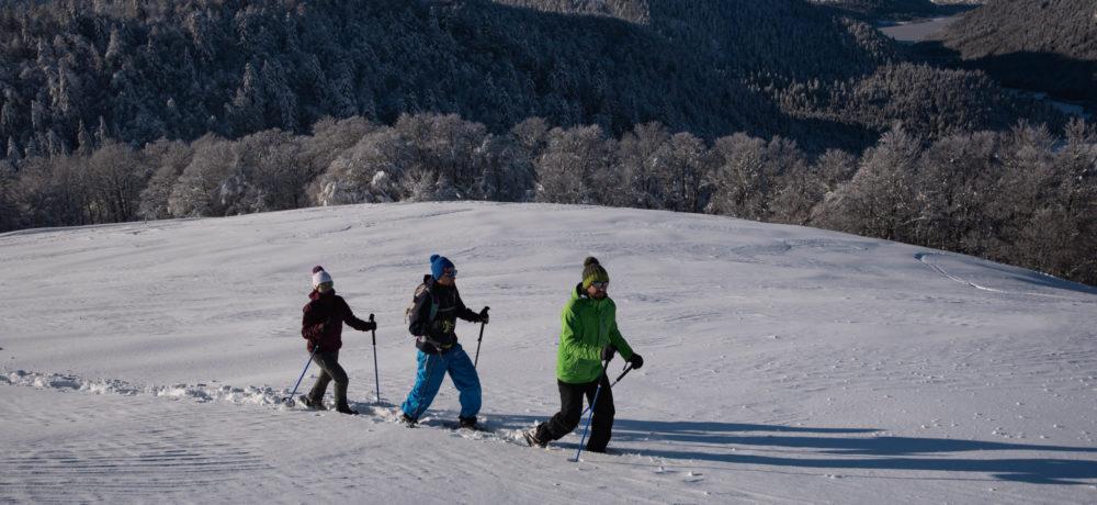 Les accompagnateurs en montagne du Refuge du Sotré sauront vous emmener à la découverte de la montagne et de son manteau neigeux dans un cadre sécurisé.